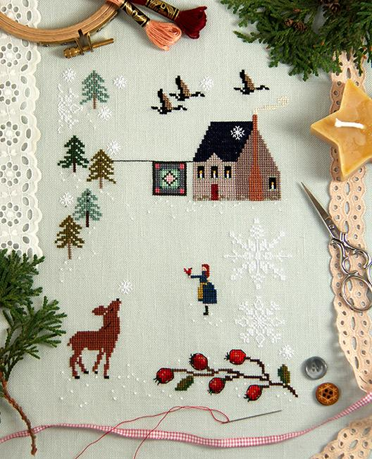 Alicia Paulson christmas cross stitch